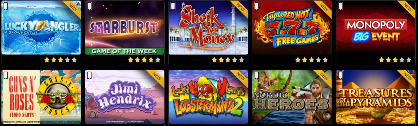 golden nugget online casino sizzling free games