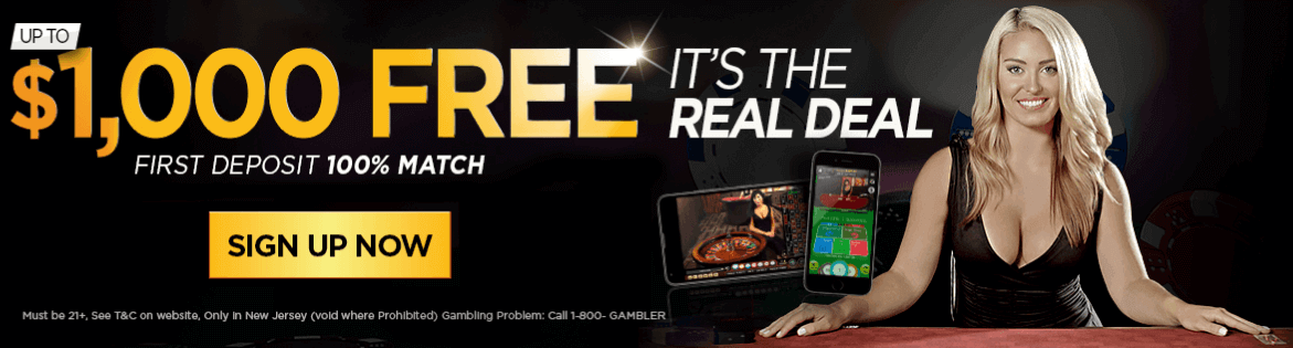 Golden Nugget Online Casino first deposit bonus