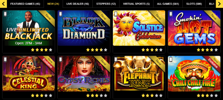 Golden Nugget Online Slots and Casino Games