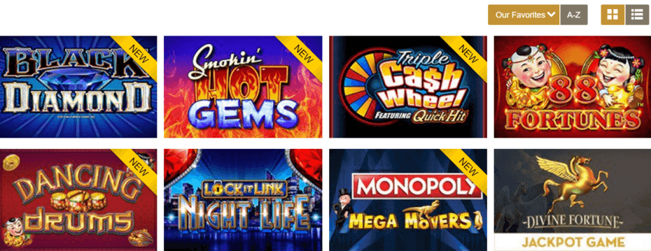 Play slots at Caesars Online casino NJ