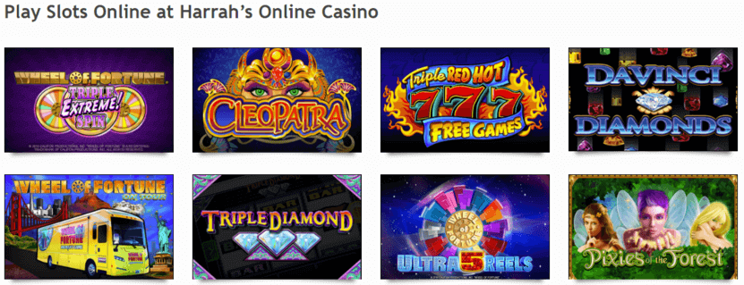 Casino slot selection