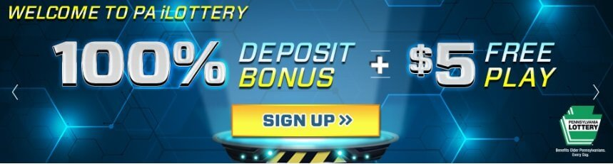 PA Lottery Welcome Bonus