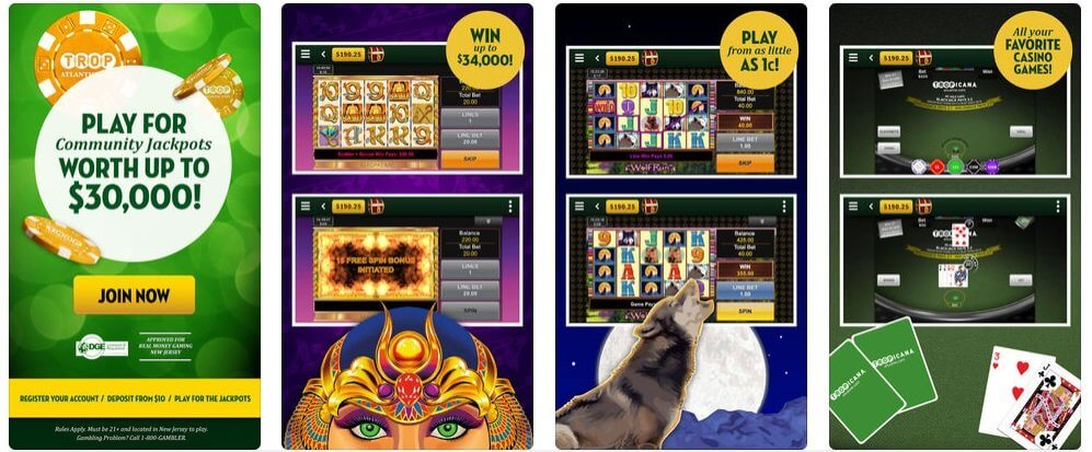Tropicana Online Casino Mobile App